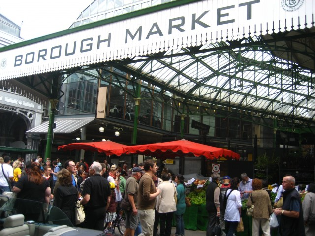 London's Borough Market will play host to one of the series of challenges