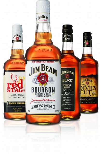 Variants of Jim Beam Bourbon (Photo: Beam Suntory)