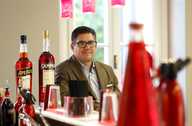Gruppo Campari CEO Bob Kunze-Concewitz. Photo credit: Alessia Pierdomenico