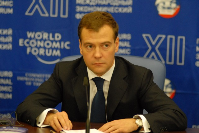 Russian Prime Minister Dmitry Medvedev last week announced the Russian import ban on certain foods from the West, sparking fears of an extension into alcohol products (Photo: Wiki)