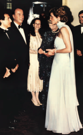 Nicolas Feuillate and Princess Diana