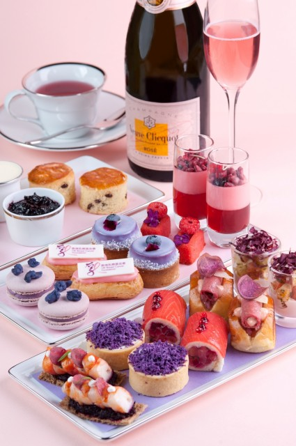 MO Bar Perfect in Pink and Purple Afternoon Tea in Support of Breast Cancer Awareness