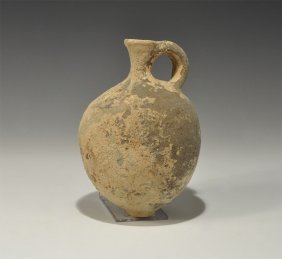 An Iron Age wine jug discovered in Palestine indicates a long history of winemaking in the region.
