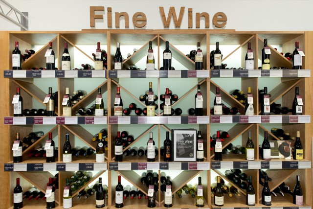 Top 10 best-selling fine wines at Majestic