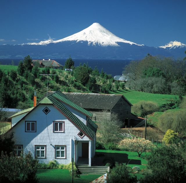 Volcan Osorno southern Chile