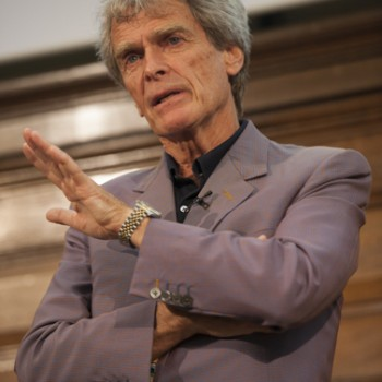 Sir John Hegarty at the WSTA annual conference yesterday
