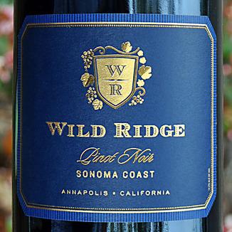 Wild Ridge Pinot Noir 2011, Sonoma Coast, California