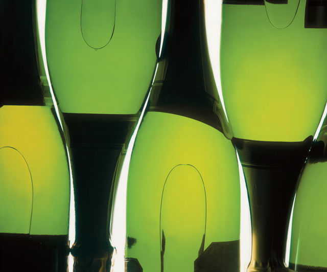 Champagne-Bottles