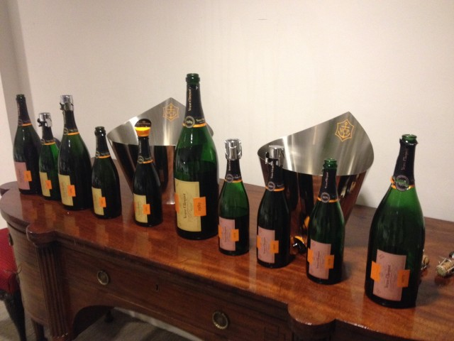 Cave privée Collection Veuve Clicquot