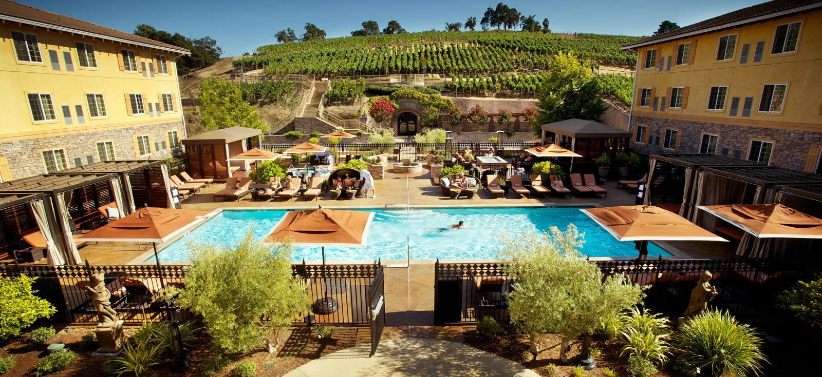 Napa Valley Hotels >> Top 10 Napa Valley Wine Hotels