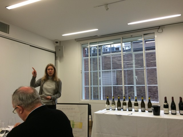 Veronique Drouhin introduces the 2013 vintage from Joseph Drouhin