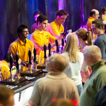 The SIBA BeerX festival in March, which featured a vast array of British craft beers on pour