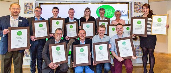 Green Award Winners - 2014