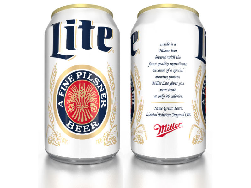 Miller Lite's frothy yellow ad miscue