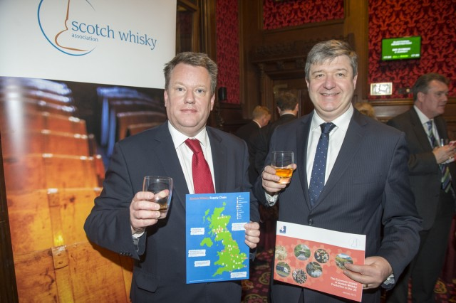 David Frost, chairman of the SWA (left) with Secretary of State Alistair Carmichael (right) (Photo: Paul Grover)