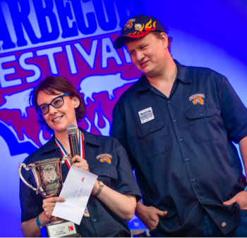 Grand Champions Jess and Rachel Rogers. Credit: Melbourne Barbecue Festival.