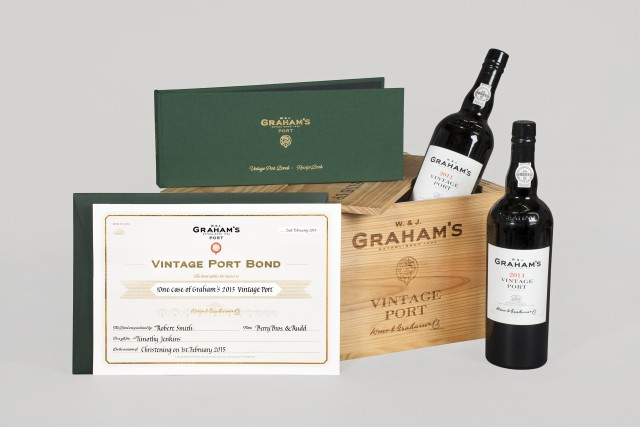 The bond will guarantee of a case of a particular vintage even while the wine is on the vine (Photo: Graham's)