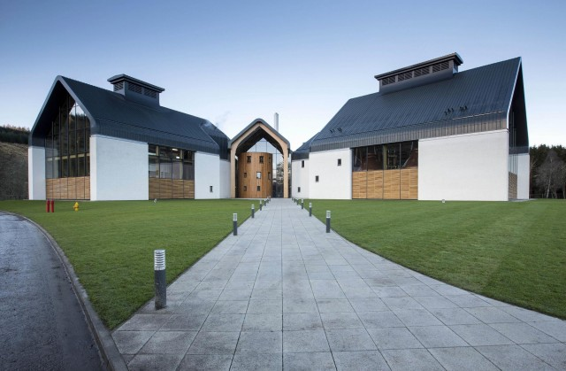 Dalmunach Distillery External Day