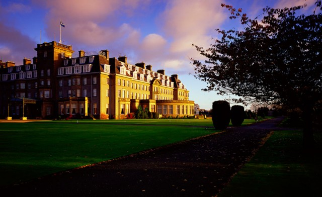 the five star resort in perthshire was built in the 1920s as the ...