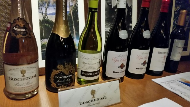 The week in pictures hong kong for Boschendal wine