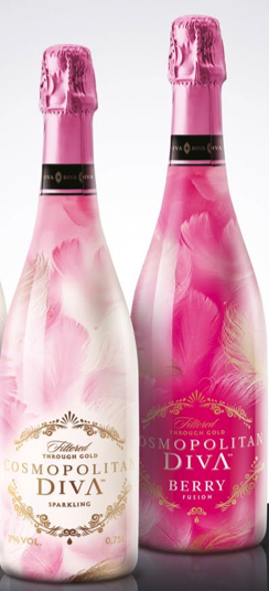 Gold Gives Smoothness To Sparkling Drink