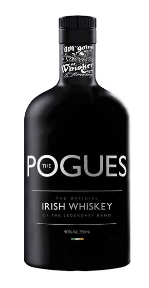 Pogues whiskey - white - mini