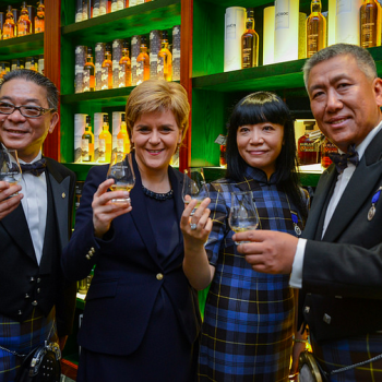 Scotland's First Minister Nicola Sturgeon recently launched a new Scotch centre in Beijing (Photo: Whisky)