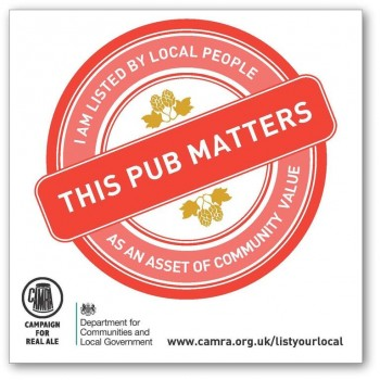 The badge is designed to encourage locals to support their local pub (Photo: Camra)