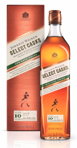 Johnnie Walker's new Rye Cask Finish expression aims to help broaden Scotch whisky's appeal