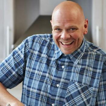 Tom Kerridge is famous as being the first pub chef to be award two Michelin stars (Photo: BBC)