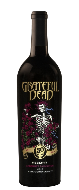 GRATEFUL DEAD RESERVE WINE LAUNCHES CELEBRATING 50th ANNIVERSARY (PRNewsFoto/Wines that Rock)