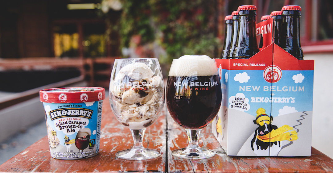 ... beer and ice cream that are designed to pair together (Photo: New