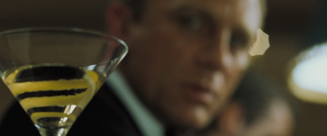 He can't keep his eyes off of it. A Still from Casino Royale (Photo: Wiki)