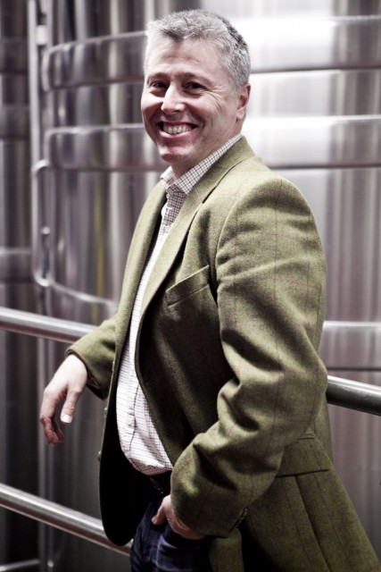 Ian Kellett, owner of Hambledon in Hampshire