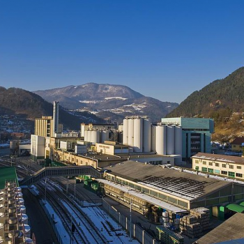 The Laško Brewery in Slovenia is reportedly the largest in the country (Photo: Lasko)