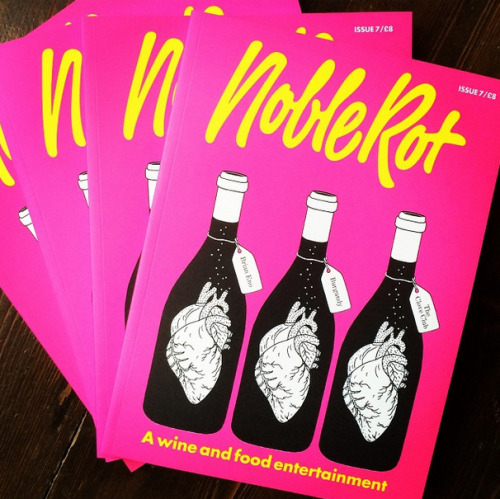 The results of the tasting will appear in Noble Rot magazine