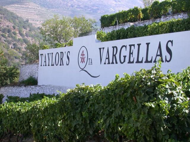 Taylor's Quinta de Vargellas sign