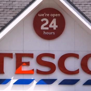Tesco Store Sign