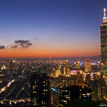Taipei, the capital city of Taiwan