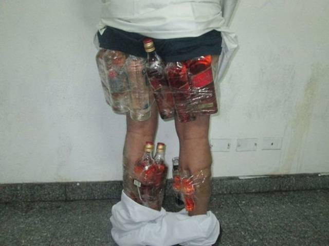 Man Caught Smuggling Booze In Underwear