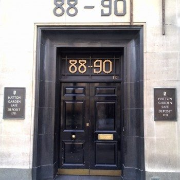 The new leaseholder of the former Hatton Garden Safe Deposit Ltd building intends to turn the basement in which the £14m heist took place into a wine bar and restaurant (Photo: Wiki Commons)
