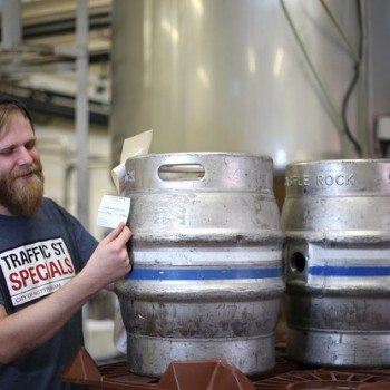 Brewer Dan Gilliland says the New Era beer and wine hybrid is the first drink of its kind (Photo: Castle Rock)
