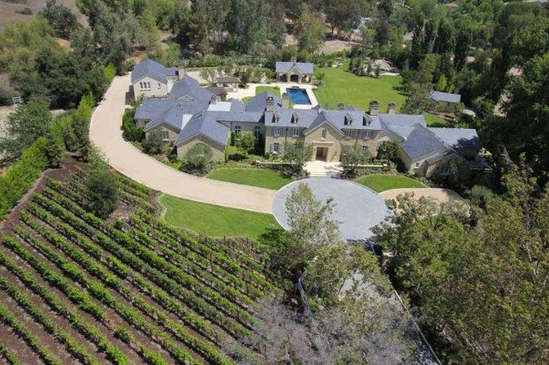 Kanye West and Kim Kardashian's sprawling Hidden Hills estate