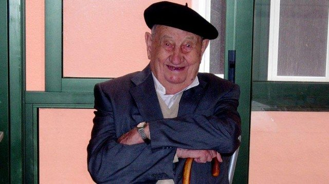 Galician winemaker Antonio Docampo lived to 107