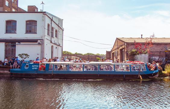 The Alfred Leroy takes to the water this weekend (Photo: Crate Brewery)