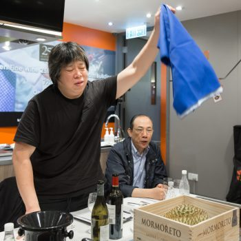 One of the judges, Alvin Leung of Bo Innovation