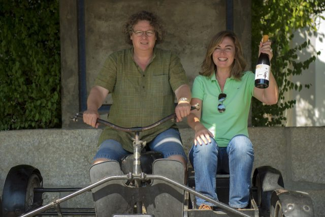 Susana Esteban's first Sidecar project was made with Douro winemaker Dirk Niepoort, who created a (Photo: Susana Esteban)