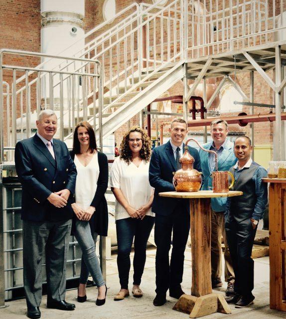 Distillery team