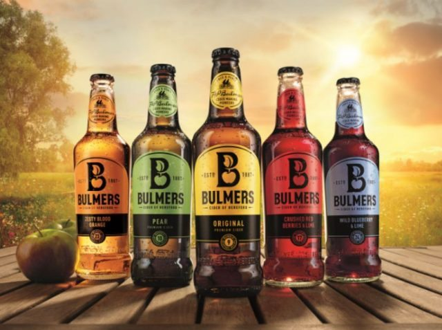 The Bulmers redesign marks 130 years of cider-making for the brand (Photo: Heineken)