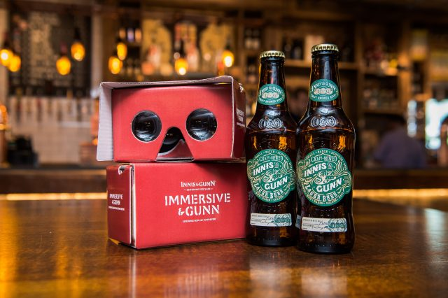 Scottish craft brewer Innis & Gunn launches Imersive and Gunn, a Virtual Reality experience that changes how you taste beer.